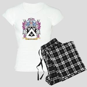 Buckles Coat of Arms (Famil Women's Light Pajamas
