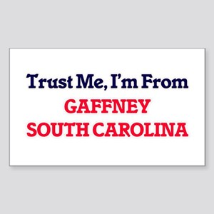 Trust Me, I'm from Gaffney South Carolina Sticker
