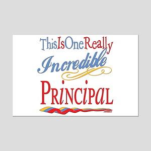 Incredible Principal Mini Poster Print