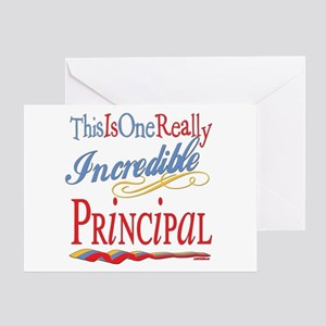 Incredible Principal Greeting Card