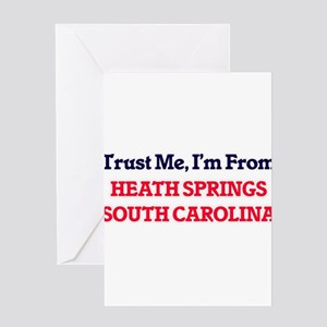 Trust Me, I'm from Heath Springs So Greeting Cards