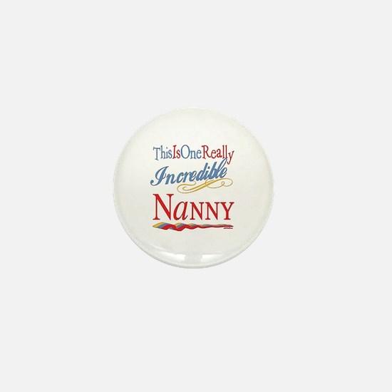 Incredible Nanny Mini Button