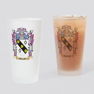 Bullis Coat of Arms (Family Crest) Drinking Glass