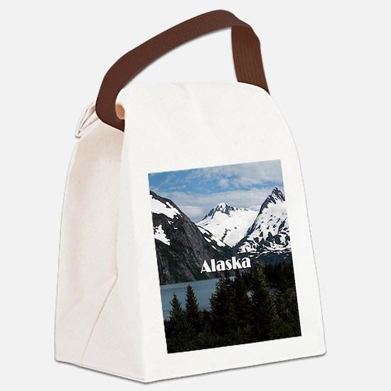 Unique Alaska Canvas Lunch Bag