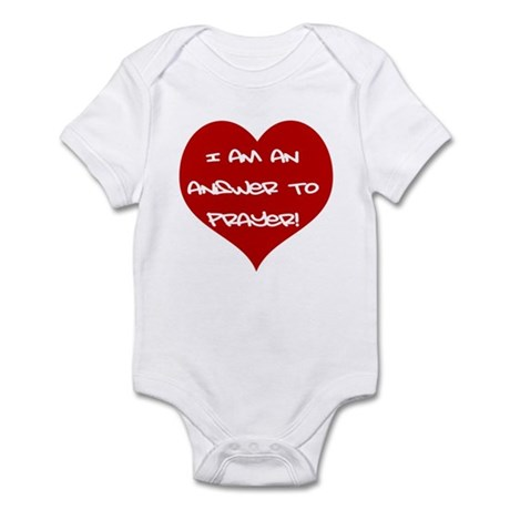Answer to Prayer Infant Bodysuit