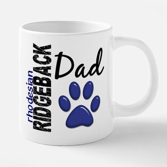 Rhodesian Ridgeback Dad 2 Large Mugs