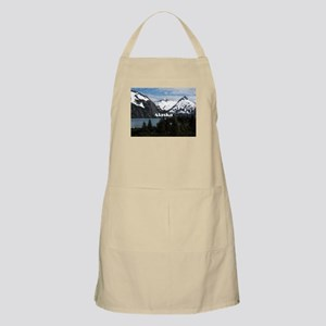 Alaska: Portage Lake and mountains Apron