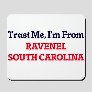 Trust Me, I'm from Ravenel South Carolin Mousepad