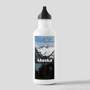 Alaska: Portage Lake a Stainless Water Bottle 1.0L
