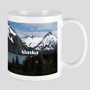 Alaska: Portage Lake and mountains Mugs