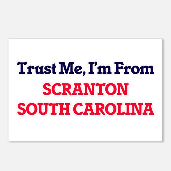 Trust Me, I'm from Scrant Postcards (Package of 8)