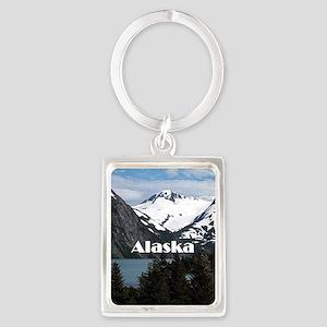 Alaska: Portage Lake and mountains Keychains
