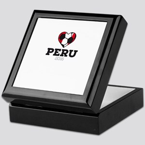 Peru Soccer Shirt 2016 Keepsake Box