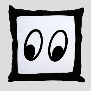 Moon Eyes Throw Pillow