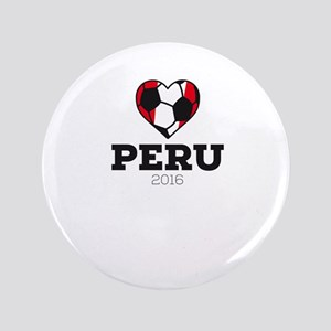 Peru Soccer Shirt 2016 Button