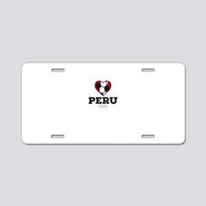 Peru Soccer Shirt 2016 Aluminum License Plate