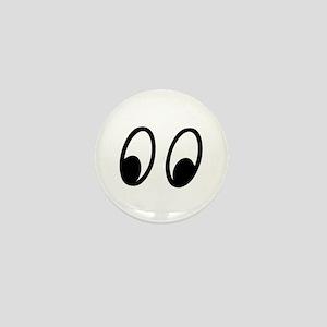 Moon Eyes Mini Button