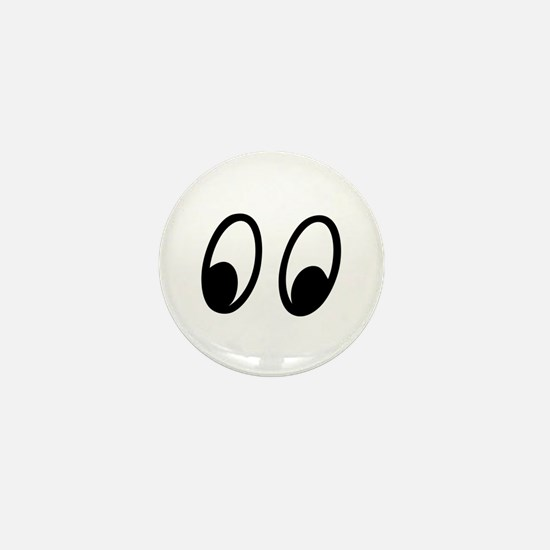 Moon Eyes Mini Button