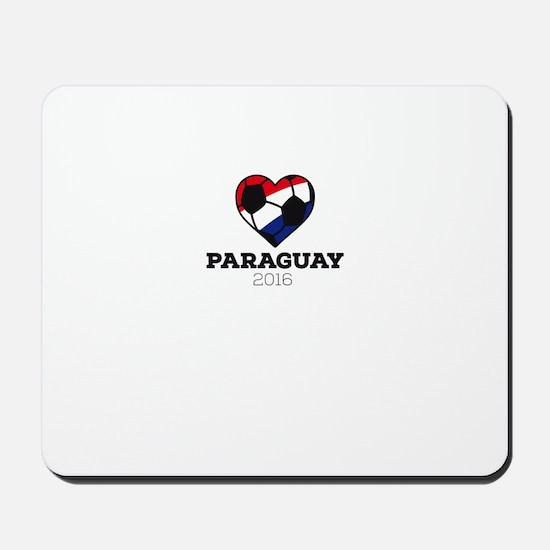 Paraguay Soccer Shirt 2016 Mousepad