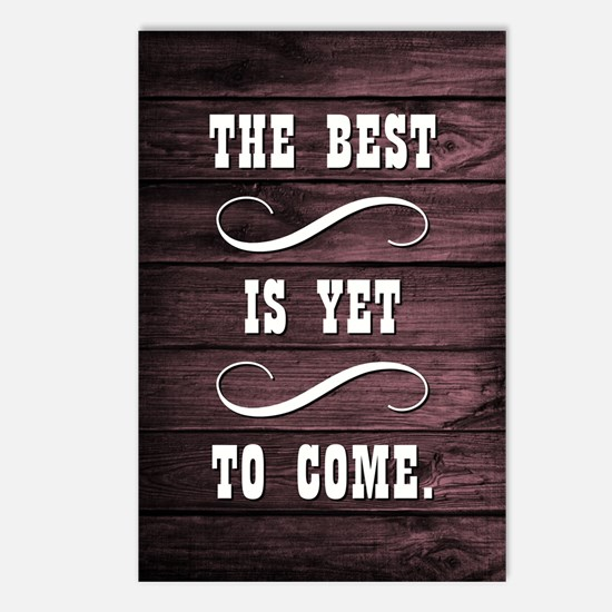 THE BEST IS YET... Postcards (Package of 8)