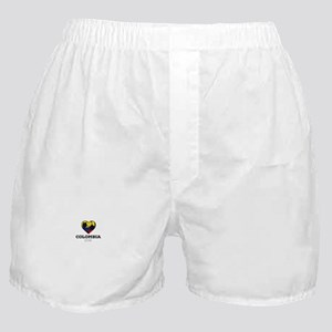 Colombia Soccer Shirt 2016 Boxer Shorts