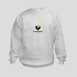 Colombia Soccer Shirt 2016 Kids Sweatshirt