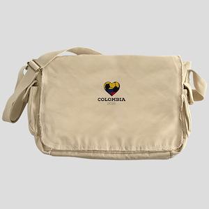 Colombia Soccer Shirt 2016 Messenger Bag