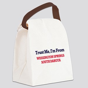 Trust Me, I'm from Wessington Spr Canvas Lunch Bag