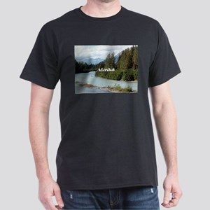 Alaska: River and mountains, USA T-Shirt