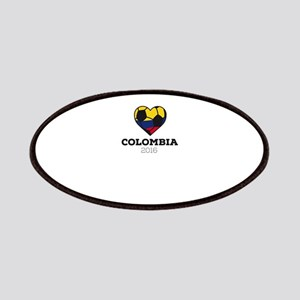 Colombia Soccer Shirt 2016 Patch
