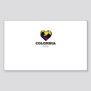 Colombia Soccer Shirt 2016 Sticker