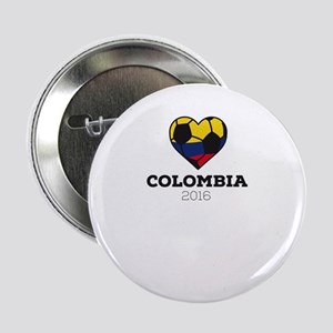"Colombia Soccer Shirt 2016 2.25"" Button"