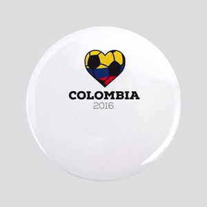 Colombia Soccer Shirt 2016 Button