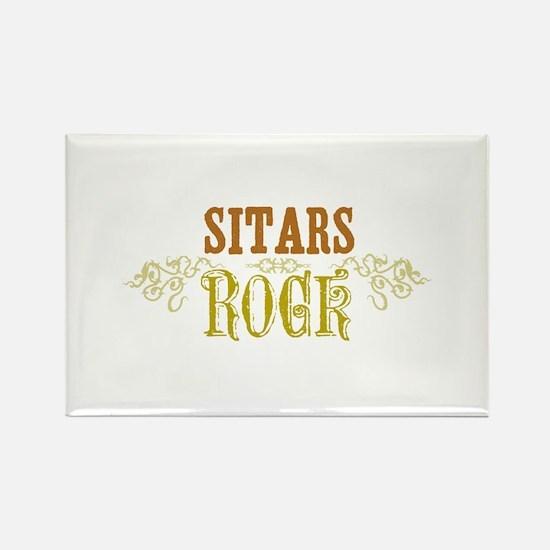 Sitars Rectangle Magnet