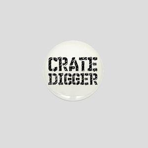 Crate Digger Mini Button