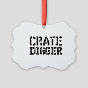Crate Digger Ornament