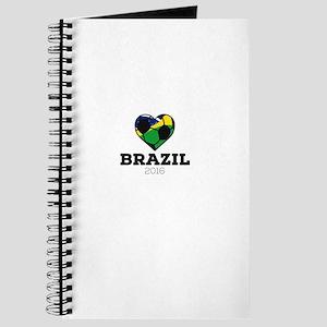 Brazil Soccer Shirt 2016 Journal