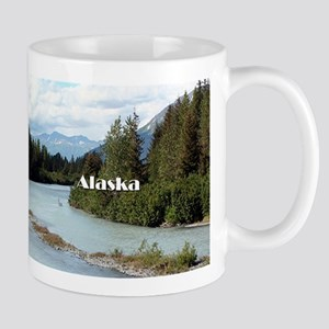 Alaska: River and mountains, USA Mugs
