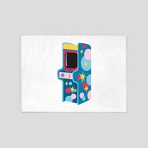 Arcade Game 5'x7'Area Rug