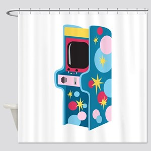 Arcade Game Shower Curtain