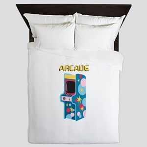 Arcade Games Queen Duvet