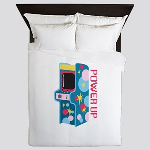 Arcade Power Up Queen Duvet