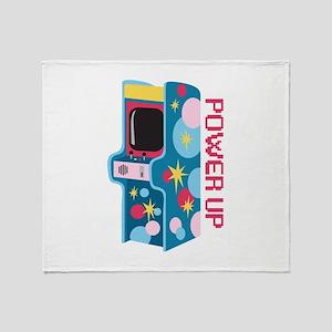 Arcade Power Up Throw Blanket