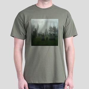 Ghosts of GBG Cemetery Dark T-Shirt