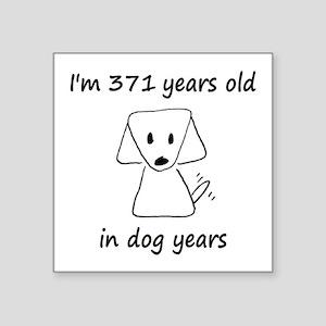 53 Dog Years 6-2 Sticker