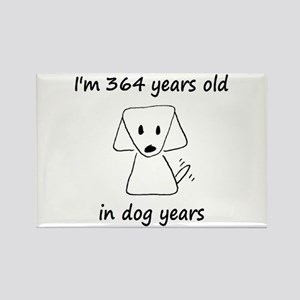 52 Dog Years 6-2 Magnets