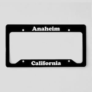 Anaheim CA License Plate Holder
