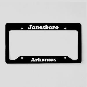 Jonesboro AR License Plate Holder