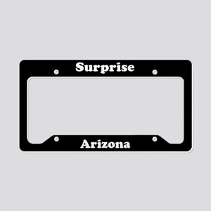 Surprise AZ License Plate Holder