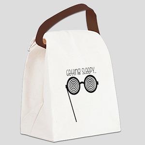 Getting Sleepy Canvas Lunch Bag